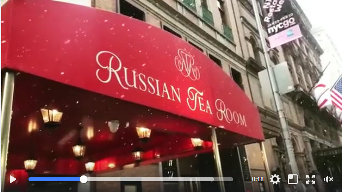 Russian Tea Room video